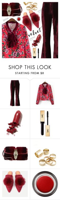 """""""#velvet"""" by meyli-meyli ❤ liked on Polyvore featuring STELLA McCARTNEY, LAQA & Co., Gucci and John Lewis"""
