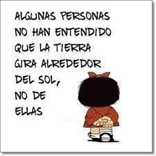 Resultado de imagen para mafalda frases Some Quotes, Crochet Hats, Blog, Peach, Wisdom, Facebook, Education, Spanish Quotes, Motivational Quotes