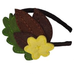 Flora Headband / Hand Made Hair Accessories for Girls by Little Prints Workshop / Fabric: Felt