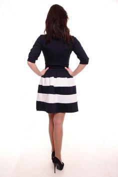 Платье А1385 Размеры: 42,44,46,48 Цвет: темно-синий Цена: 600 руб.  http://optom24.ru/plate-a1385/