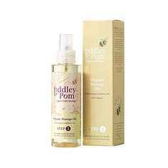 Tiddley Pom Organic Massage Oil 150ml  Pack of 6 ** For more information, visit image link.