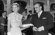 La princesa Grace deslumbró con su belleza y estilo el día de su boda civil con Raniero