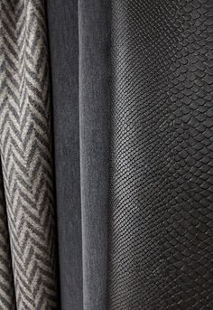 Left to right: Colorado in Charcoal/Nickel 66652, Jackson Wool Velvet in Smoke…