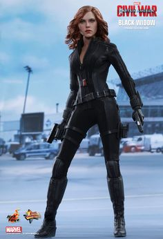 Hot Toys : Captain America: Civil War - Black Widow 1/6th scale Collectible Figure