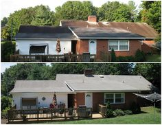 Blue Ridge Roof Cleaning of Virginia: Spring Reveals The Stains On Your Roof
