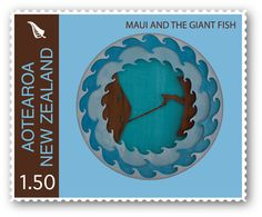 Maui Series Stamp Design