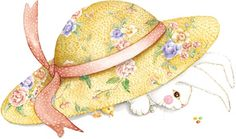 bunny under the hat Susan Branch Happy Spring, Spring Time, Here Comes Peter Cottontail, Branch Art, Mary Engelbreit, Hoppy Easter, Spring Has Sprung, Vintage Easter, Easter Crafts