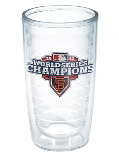 New Arrivals | 2012 World Series Champions - San Francisco Giants | Logo | Tumblers, Mugs, Cups | Tervis