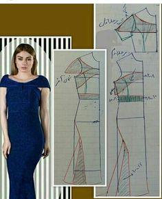 Sewing Projects, Bodycon Dress, Prom Dresses, Pattern, Video, Fashion, Modeling, Vestidos, Necklaces