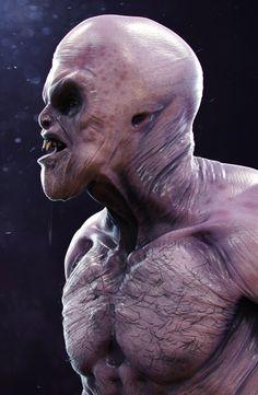 Postać 3d: Alien Creature