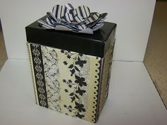 Mashed Potatoes and Crafts: Upcycling Makeup Box Into Card Holder