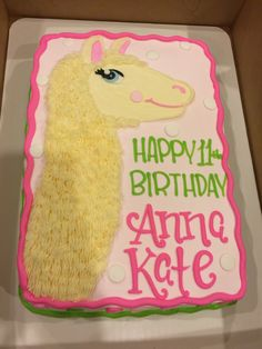 Llama cake! :)