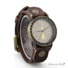 Damen Armbanduhr TOWER dunkel braun