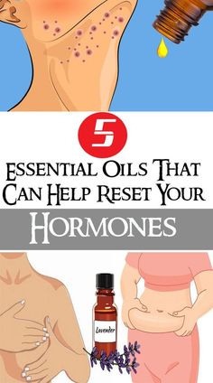 5 Essential Oils That Can Help Reset Your Hormones #hormones #health #darkspot #fitness #fat #beauty #face