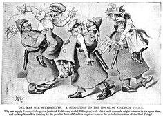 A 1907 Punch Magazine cartoon