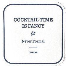 fancy but not formal … amen! #coasters
