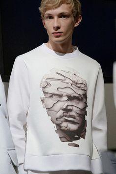 Minimalist sportswear inspired by Roman classicism at Neil Barrett SS15, Milan menswear. More images here: http://www.dazeddigital.com/fashion/article/20414/1/neil-barrett-ss15