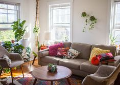 A Sunny Home for Two Free-Spirited Midwesterners | Design*Sponge