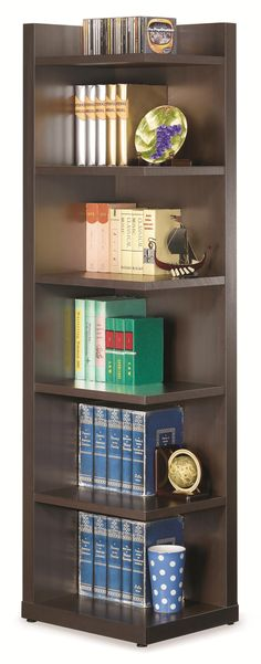 800270 - Bookcases Corner Bookcase with Open Side | *buy, sell, trade, Furniture @ Barter Post