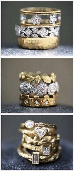 ❤️ stackable rings