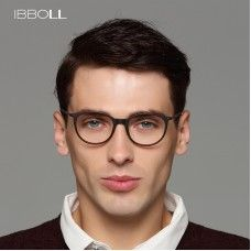 8587f13a85 ibboll Luxury Optical Glasses 2018 Classic Eye Glasses Frames for Men  Fashion Clear Eyeglasses Male Round