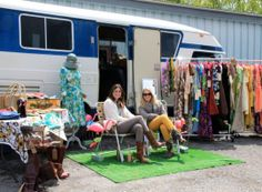 May 2014 FOUND FLEA - Check out Night Moves Vintage Clothing!