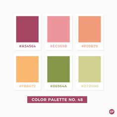 COLOR PALETTE | #color #colorscheme #colorpalette