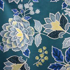 Home decor fabric woodstock - Roberto Garden blue Woodstock, Bedspread, Duvet, Geometric Throws, Home Decor Fabric, Drapery Fabric, Fabric Online, Home Decor Trends, Traditional Design