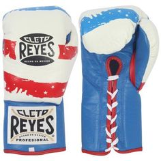 Cleto Reyes Official Fight Boxing Gloves