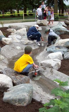 Image result for sensory playground water