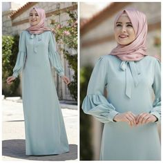 Shrink your URLs and get paid! Hijab Elegante, Hijab Chic, Abaya Mode, Mode Hijab, Abaya Designs, Hijab Style Dress, Hijab Outfit, Abaya Fashion, Fashion Dresses