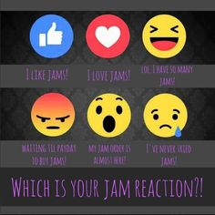Let us know! Which one is YOUR Jam reaction?? https://mdp.jamberry.com/us/en/