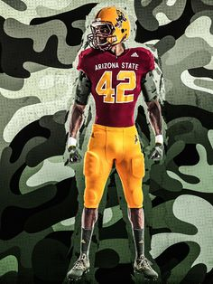 Arizona State to Wear Special Uniforms vs. Oregon in Honor of Pat Tillman fb39be305