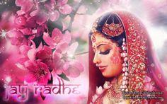 To view Radharani wallpapers in difference sizes visit - http://harekrishnawallpapers.com/srimati-radharani-artist-wallpaper-002/