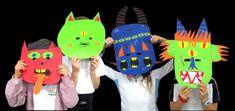 Máscaras monstruosas