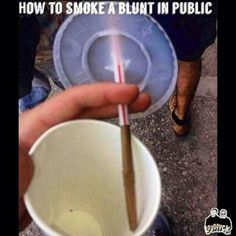 Life hacks: how to smoke in a crowded public place just keep a cigarette going so you can cover up the smoke with friends. Share a coke with a buddy ; Smoking A Blunt, Weed Humor, Puff And Pass, Smoke Weed, Bongs, Medical Marijuana, Herbalism, The Cure, Weed