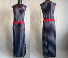 30% off SALE Woman's Summer Stripped Full Length