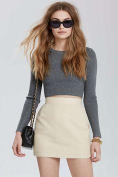 Vintage Channel Lannion Tweed Skirt