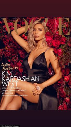 Wow! Kim Kardashian revealed that her mother was a guiding force in her families success during an interview with Vogue India