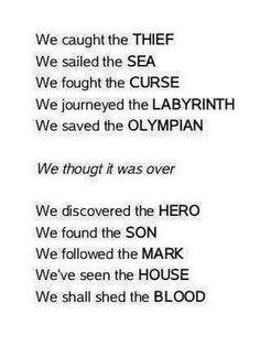 PERCY JACKSON PJO AND HEROES OF OLYMPUS... this brings back memories