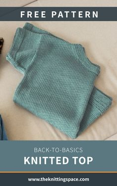 Free Knitting Patterns For Women, Sweater Knitting Patterns, Easy Knitting, Knitting Basics, Hand Knitted Sweaters, Knitted Bags, Sewing Patterns, Summer Knitting Projects, Hands