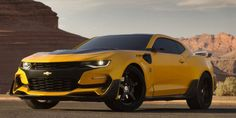 If You Love the 2016 Camaro, You'll Hate the New Transformers Bumblebee