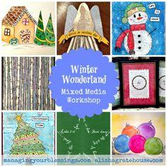 Winter Wonderland Collage - MYB