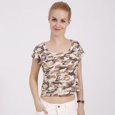 a7802e43d30f Women crop top 2018 summer short t shirt camiseta female o-neck sexy loose  soft blusas short batwing sleeve tees shirts DF Price history.
