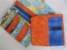 Spring Fling Wallet - PDF Pattern - this fantastic wallet has an insert that is removable! When you need all your cards, simply slip it in and when you don't, take it out!! LOVE IT!