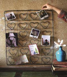Wire Photo Card Holder - Picture Frames -  Wall Decor -  Home Decor | HomeDecorators.com