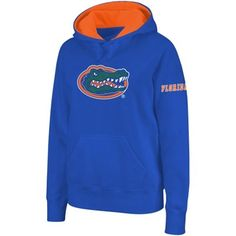 Florida Gators Ladies Big Logo Pullover Hoodie Sweatshirt - Royal Blue