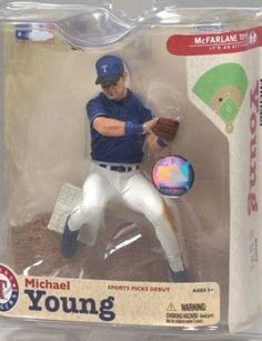 Action Figure Boxes - Baseball: Michael Young
