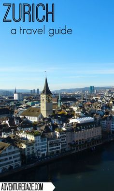 One of Switzerland's largest cities, Zurich is so much more than fondue and chocolate. Start planning your trip there today! Switzerland Travel Guide, Switzerland Cities, European Destination, European Travel, Places Worth Visiting, Travel Ads, Plan Your Trip, Historical Sites, Where To Go