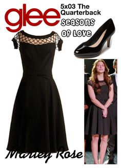 """Marley Rose (Glee) : 5x03"" by aure26 ❤ liked on Polyvore featuring glee"